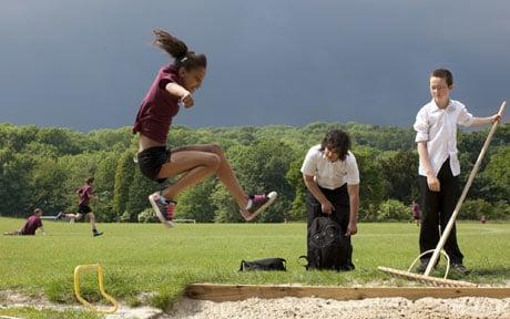 School jump